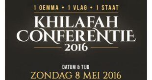 hollanda hilafet konferansi 2016