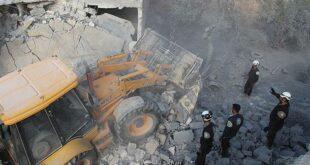 İdlib'e düzenlenen şiddetli hava saldırılarında 17 kişi öldü