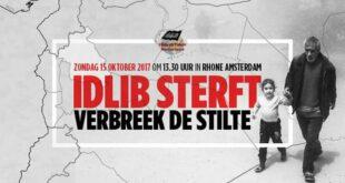 """Hizb-ut Tahrir Hollanda: """"#İdlibÖlüyor; Suskunluğu Kırın!"""""""