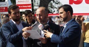 İdlib İçin 8 İlde Gıyabi Cenaze Namazı ve Basın Açıklaması Yapıldı