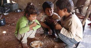 Doğu Guta'da çocuklar yarım öğünle gün geçiriyor