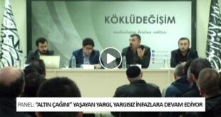 Panel: 'Altın Çağı'nı Yaşayan Yargı Yargısız İnfazlara Devam Ediyor