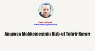 Anayasa Mahkemesi'nin Hizb-ut Tahrir kararı