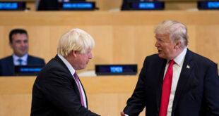 Johnson ile Trump'tan 'Brexit ve Hürmüz' görüşmesi