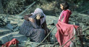 Siyonistler 8 kişilik aileyi şehit etti