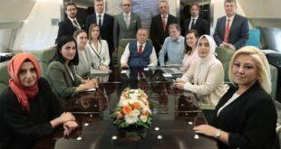 Dönüş yolundaki Erdoğan'dan kritik açıklamalar