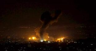 Yahudi varlığı Gazze'de Hamas'a ait noktaları bombaladı