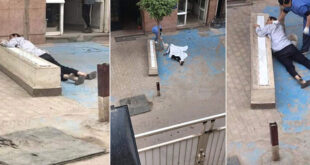 Mısır'da koronavirüs skandalı: 62 yaşındaki adam hastane önünde can verdi