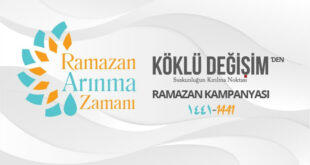 """Köklü Değişim'den kampanya: """"Ramazan Arınma Zamanı"""""""