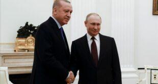 Erdoğan, Putin ile Suriye ve koronavirüsü görüştü