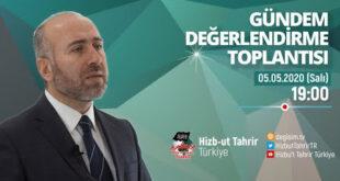 [05 Mayıs 2020] Hizb-ut Tahrir Türkiye Haftalık Değerlendirme Toplantısı