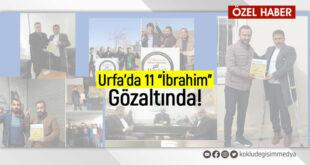 """Urfa'da 11 """"İbrahim"""" gözaltında!"""